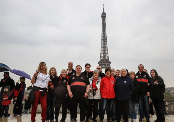 Lionhearts on Tour – Paris